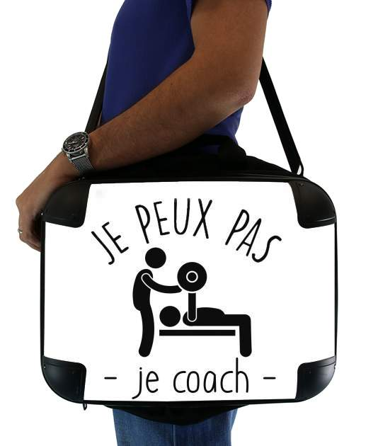 "Je peux pas je coach for Laptop briefcase 15"" / Notebook / Tablet"