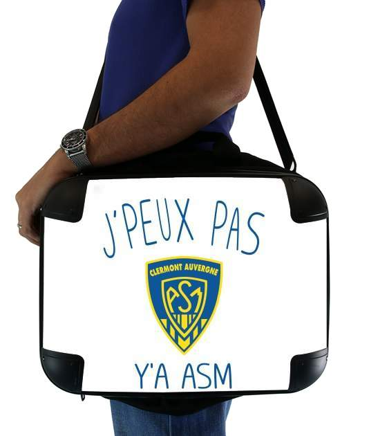 "Je peux pas ya ASM - Rugby Clermont Auvergne for Laptop briefcase 15"" / Notebook / Tablet"