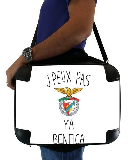 "Je peux pas ya benfica for Laptop briefcase 15"" / Notebook / Tablet"