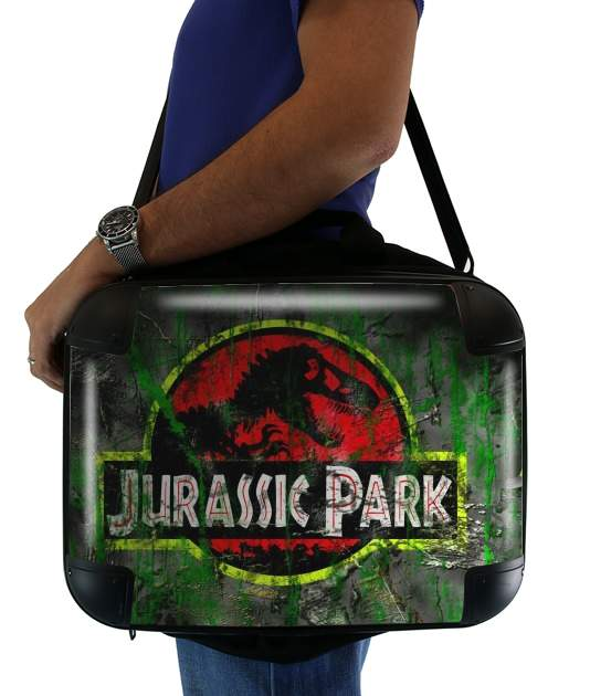 "Jurassic park Lost World TREX Dinosaure for Laptop briefcase 15"" / Notebook / Tablet"