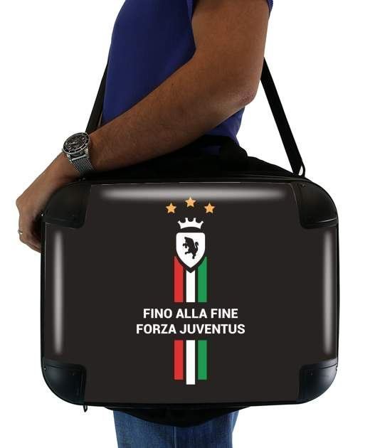 "JUVENTUS TURIN Home 2018 for Laptop briefcase 15"" / Notebook / Tablet"