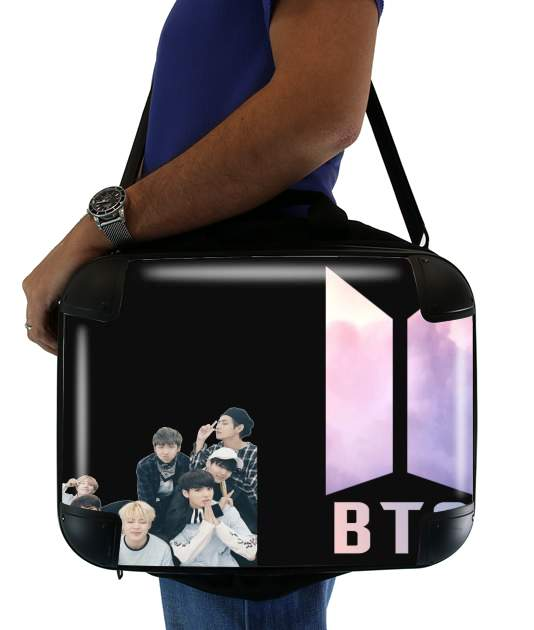 "K-pop BTS Bangtan Boys for Laptop briefcase 15"" / Notebook / Tablet"