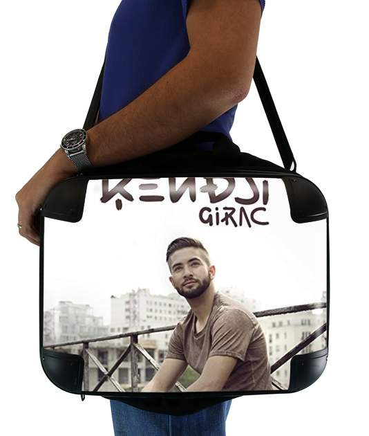 "Kendji Girac for Laptop briefcase 15"" / Notebook / Tablet"