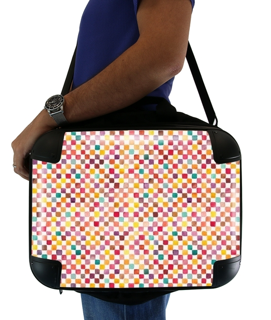 "Klee Pattern for Laptop briefcase 15"" / Notebook / Tablet"