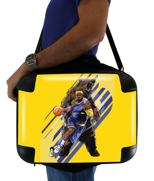 "LeBron Unstoppable  for Laptop briefcase 15"" / Notebook / Tablet"