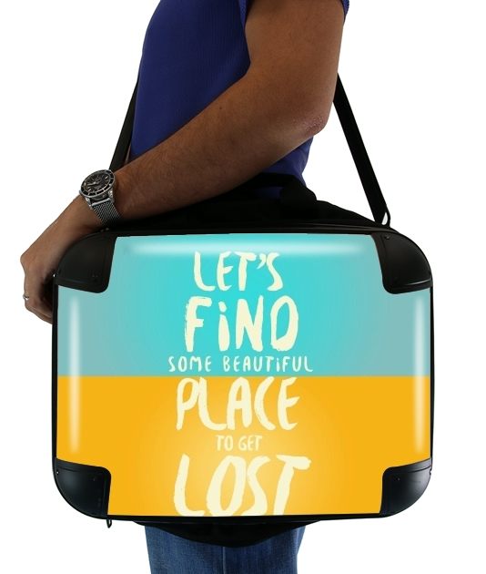 "Let's find some beautiful place for Laptop briefcase 15"" / Notebook / Tablet"