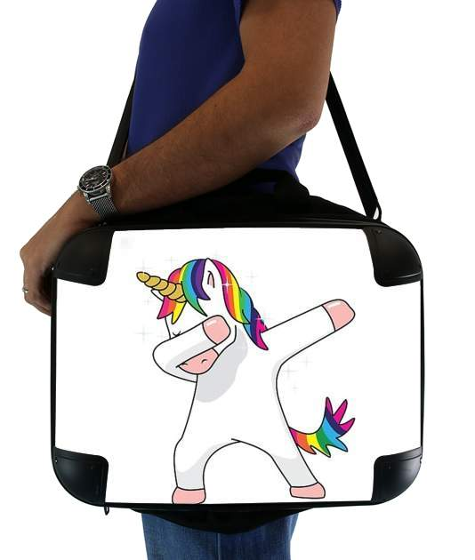 "Dance unicorn DAB for Laptop briefcase 15"" / Notebook / Tablet"