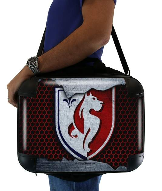 "Lilles Losc Maillot Football for Laptop briefcase 15"" / Notebook / Tablet"