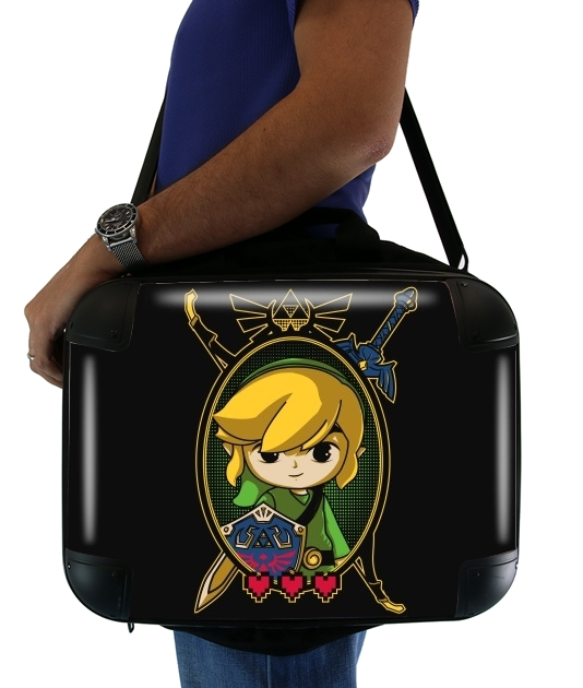 "Link Portrait for Laptop briefcase 15"" / Notebook / Tablet"