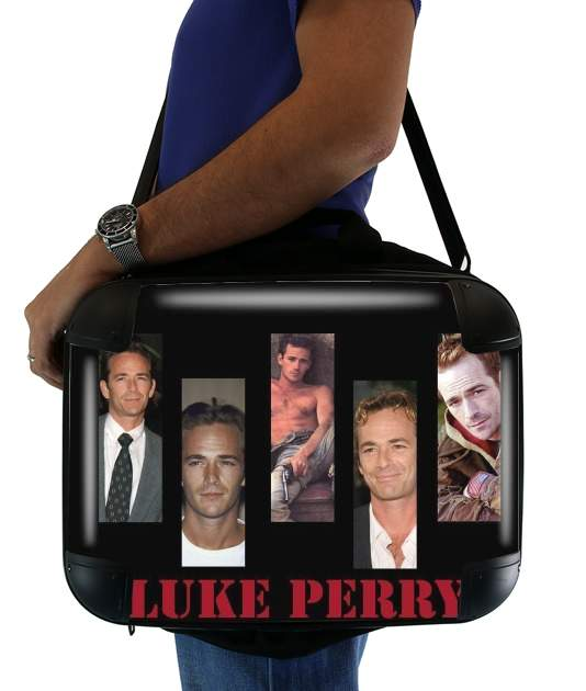 "Luke Perry Hommage for Laptop briefcase 15"" / Notebook / Tablet"