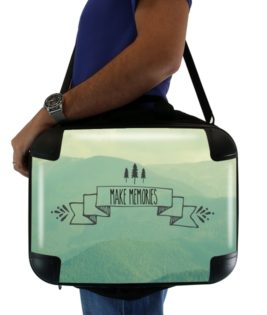 "Make Memories for Laptop briefcase 15"" / Notebook / Tablet"