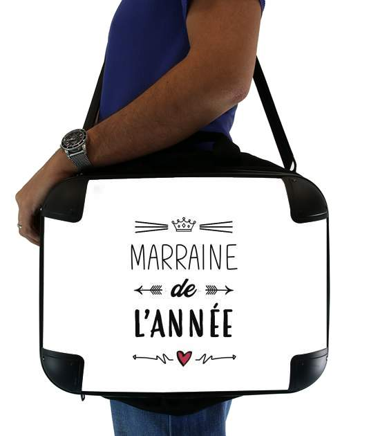 "Marraine de lannee for Laptop briefcase 15"" / Notebook / Tablet"