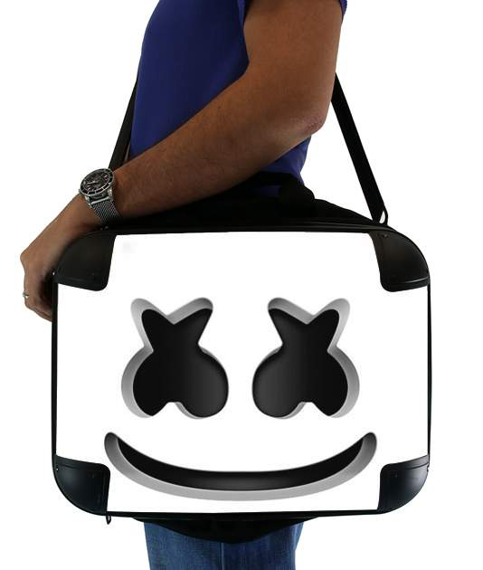 "Marshmello Or MashMallow for Laptop briefcase 15"" / Notebook / Tablet"