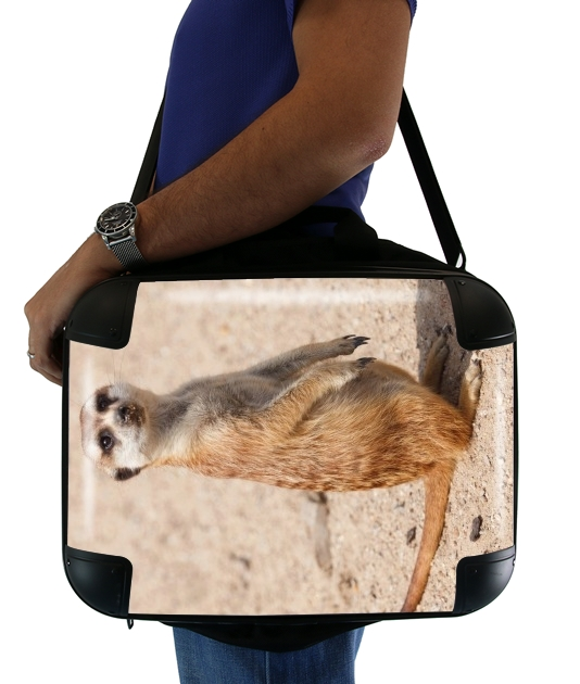 "Meerkat for Laptop briefcase 15"" / Notebook / Tablet"