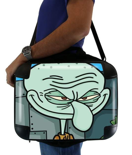 "Meme Collection Squidward Tentacles for Laptop briefcase 15"" / Notebook / Tablet"