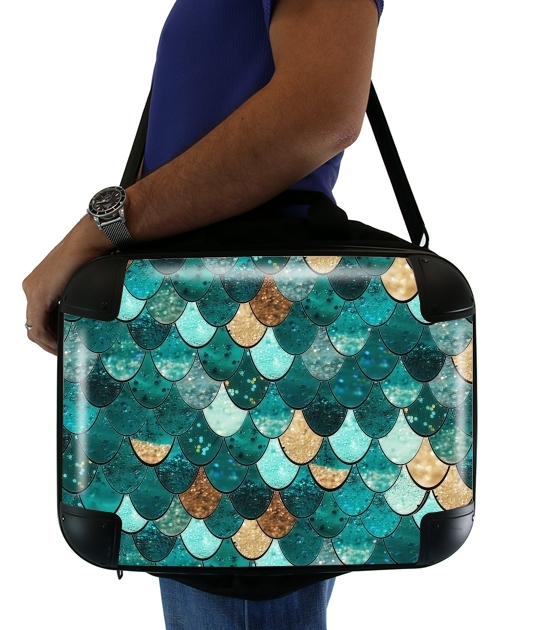 "MERMAID for Laptop briefcase 15"" / Notebook / Tablet"