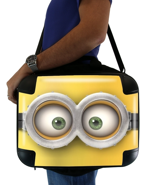 "minion 3d  for Laptop briefcase 15"" / Notebook / Tablet"