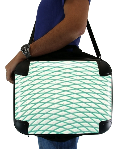 "Mint Candy for Laptop briefcase 15"" / Notebook / Tablet"