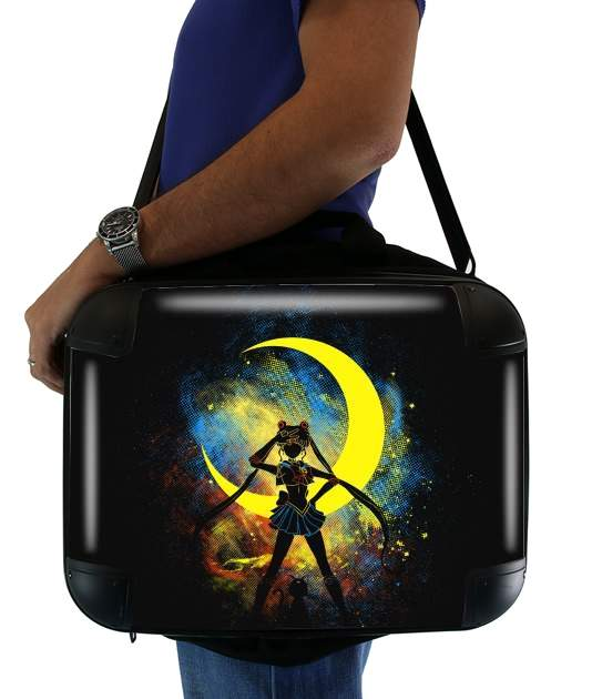 "Moon Art for Laptop briefcase 15"" / Notebook / Tablet"