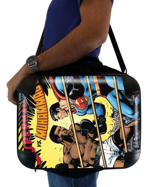 "Muhammad Ali Super Hero Mike Tyson Boxen Boxing for Laptop briefcase 15"" / Notebook / Tablet"