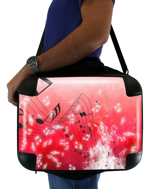 "Musicality for Laptop briefcase 15"" / Notebook / Tablet"