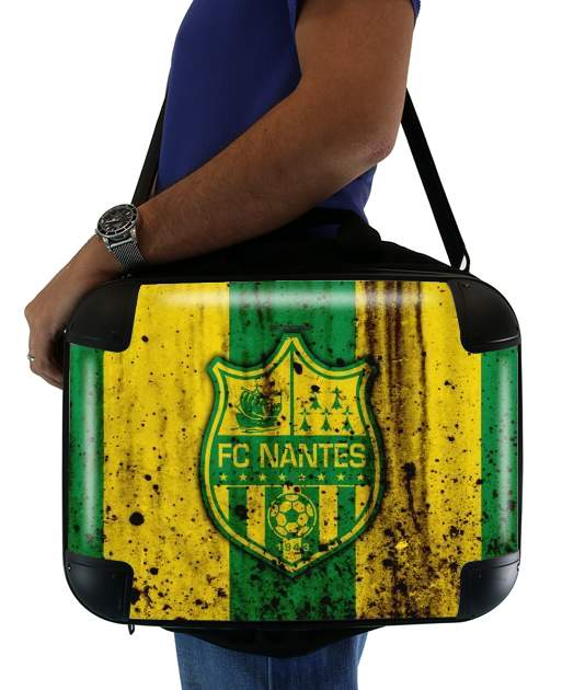"Nantes Football Club Maillot for Laptop briefcase 15"" / Notebook / Tablet"
