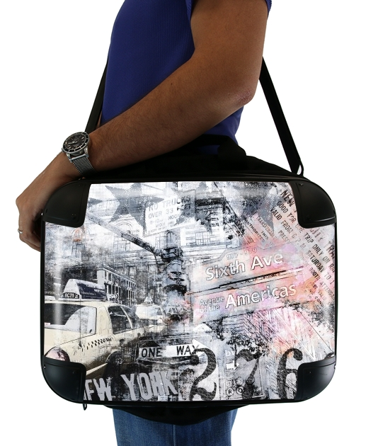 "New York 2 for Laptop briefcase 15"" / Notebook / Tablet"