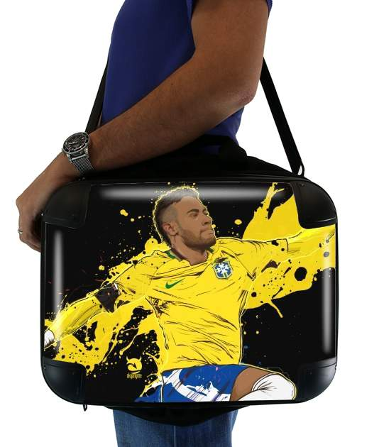 "Neymar Carioca Paris for Laptop briefcase 15"" / Notebook / Tablet"