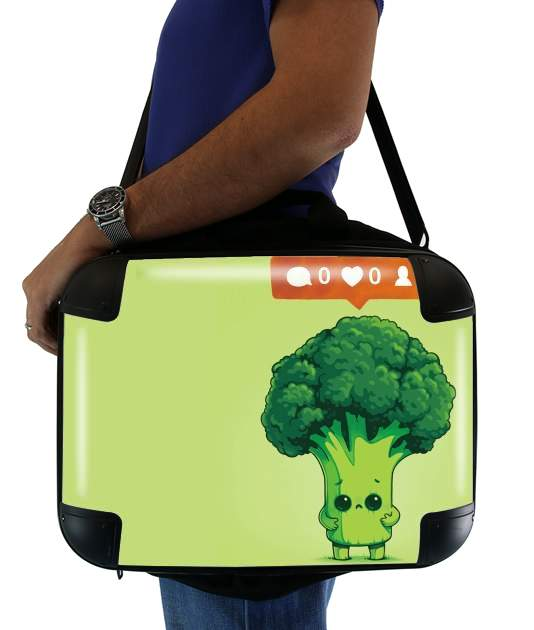 "Nobody Loves Me - Vegetables is good for Laptop briefcase 15"" / Notebook / Tablet"