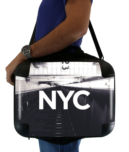 "NYC Basic Subway for Laptop briefcase 15"" / Notebook / Tablet"