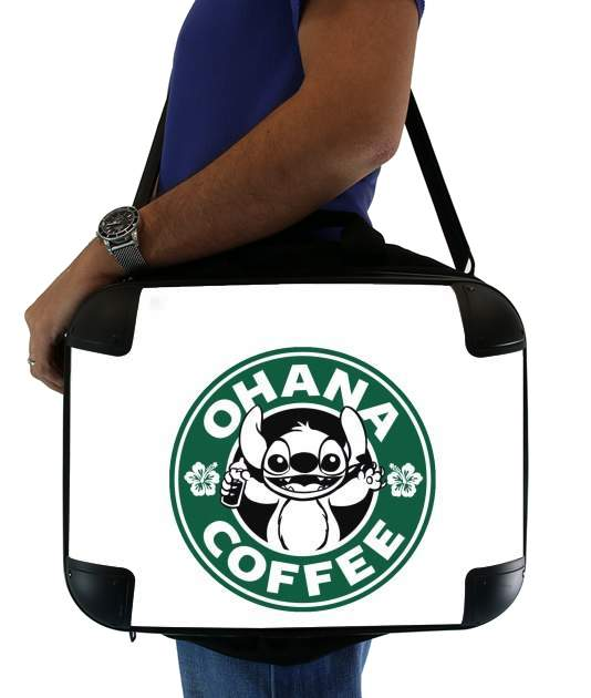 "Ohana Coffee for Laptop briefcase 15"" / Notebook / Tablet"