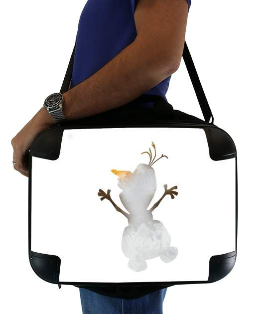 "Olaf le Bonhomme de neige inspiration for Laptop briefcase 15"" / Notebook / Tablet"