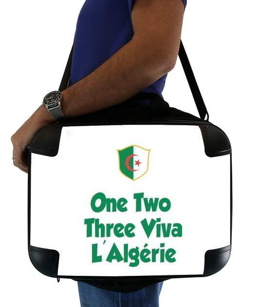 "One Two Three Viva Algerie for Laptop briefcase 15"" / Notebook / Tablet"