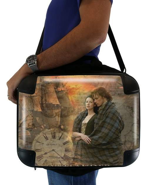 "Outlander Collage for Laptop briefcase 15"" / Notebook / Tablet"