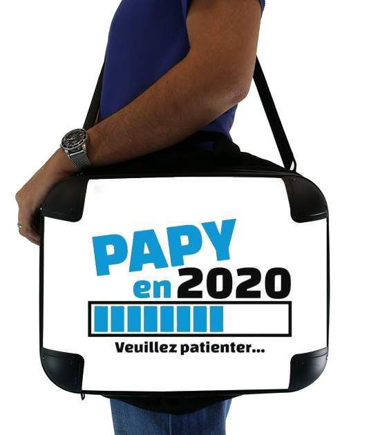 "Papy en 2020 for Laptop briefcase 15"" / Notebook / Tablet"