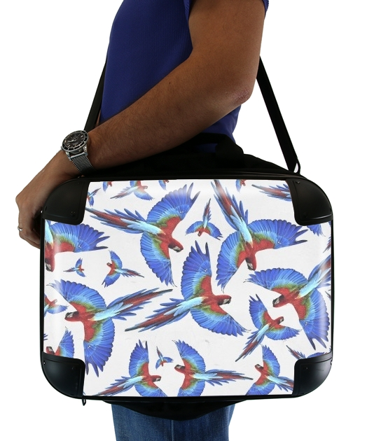 "Parrot for Laptop briefcase 15"" / Notebook / Tablet"