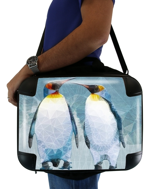 "penguin love for Laptop briefcase 15"" / Notebook / Tablet"