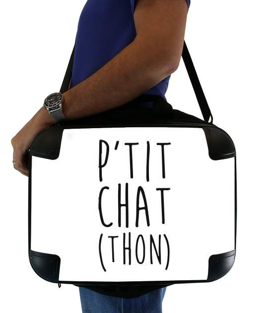 "Petit Chat Thon for Laptop briefcase 15"" / Notebook / Tablet"