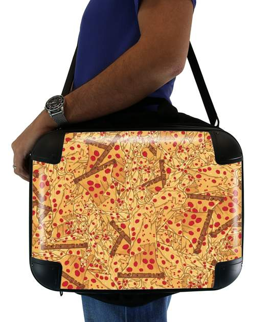 "Pizza Liberty  for Laptop briefcase 15"" / Notebook / Tablet"