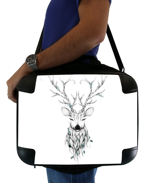 "Poetic Deer for Laptop briefcase 15"" / Notebook / Tablet"