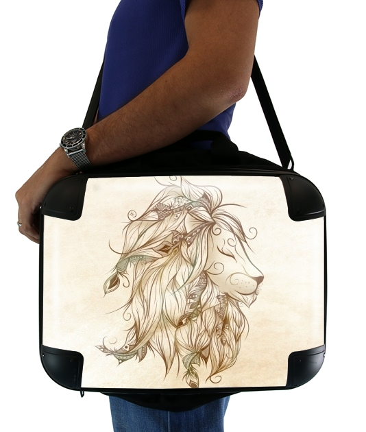 "Poetic Lion for Laptop briefcase 15"" / Notebook / Tablet"