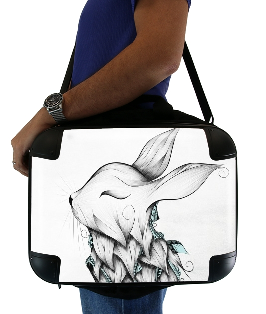 "Poetic Rabbit  for Laptop briefcase 15"" / Notebook / Tablet"
