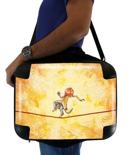 "Pumpkin Tightrope Walker for Laptop briefcase 15"" / Notebook / Tablet"
