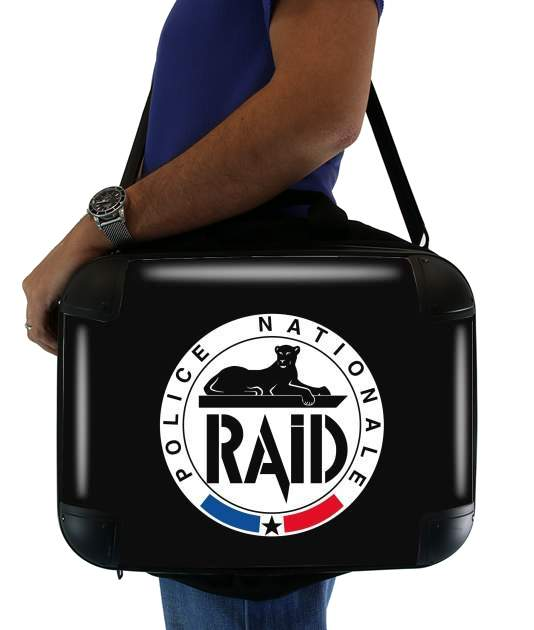 "Raid Police Nationale for Laptop briefcase 15"" / Notebook / Tablet"