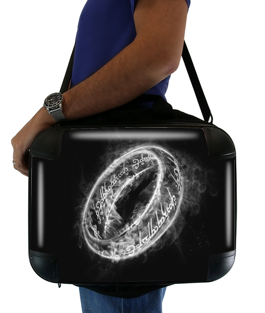 "Ring Smoke for Laptop briefcase 15"" / Notebook / Tablet"