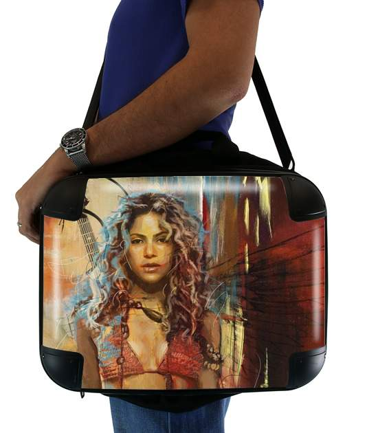 "Shakira Painting for Laptop briefcase 15"" / Notebook / Tablet"