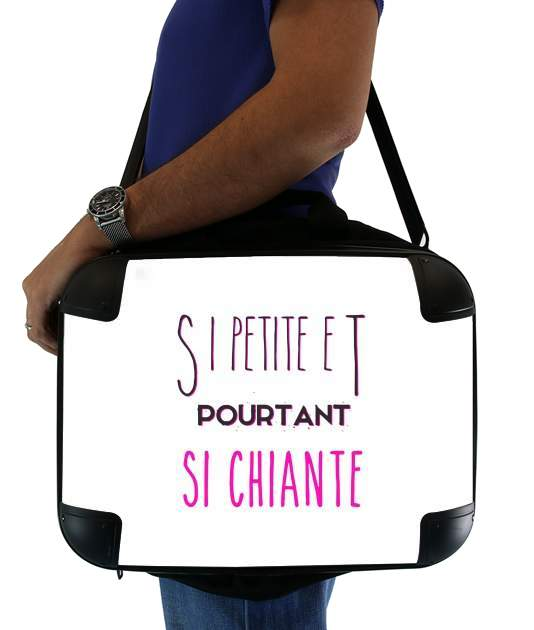 "Si petite et pourtant si chiante for Laptop briefcase 15"" / Notebook / Tablet"