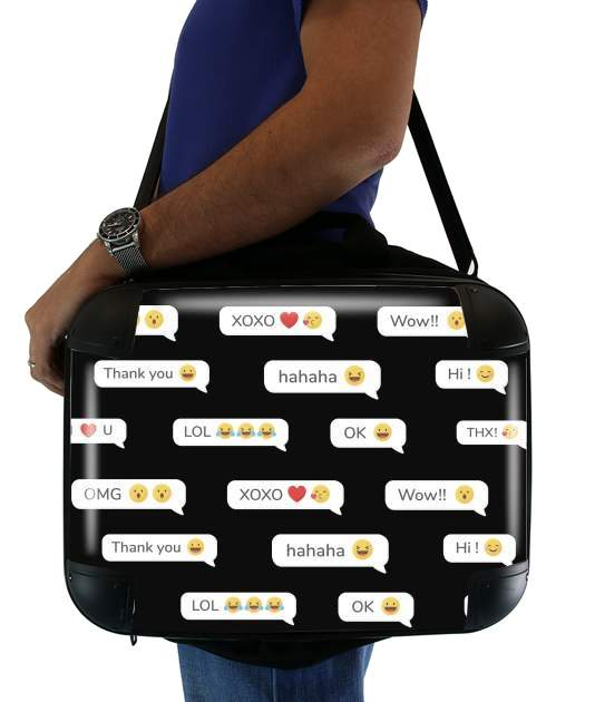"SMS for Laptop briefcase 15"" / Notebook / Tablet"