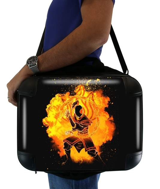 "Soul of the Firebender for Laptop briefcase 15"" / Notebook / Tablet"