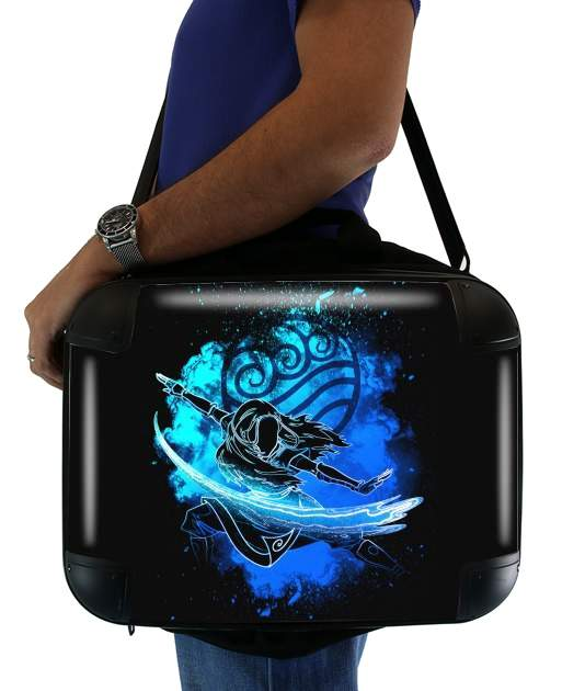 "Soul of the Waterbender Sister for Laptop briefcase 15"" / Notebook / Tablet"